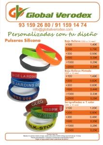 pulseras de silicona-personalizadas precios