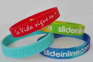 fabrica pulseras silicona baratas ejemplos