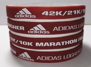 pulseras silicona Maratón Logroño