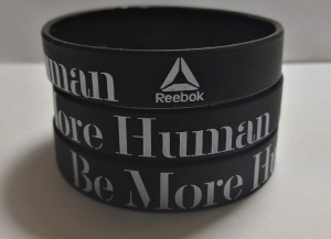 pulseras de silicona be more human