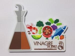 fabricantes de imanes personalizados para promocionar vinagre de jerez