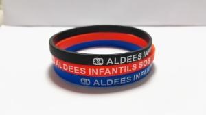 pulseras de silicona solidarias Aldeas Infantiles
