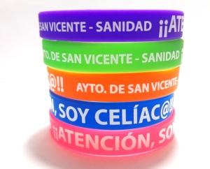 pulseras de silicona solidarias sanidad