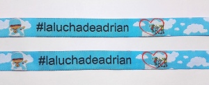 pulseras de tela personalizadas la lucha de adrian