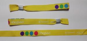 pulseras de tela personalizadas #soysalud