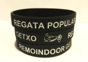regata popular getxo, pulseras silicona