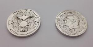 monedas personalizadas promocionales