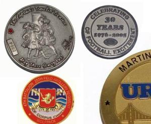 fabricantes monedas personalizadas