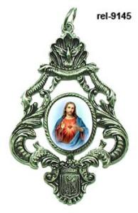 medallones religiosos personalizados