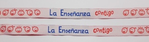 pulseras personalizadas tela: La enseñanza Contigo