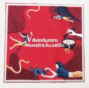 parches de tela bordados: Aventurero