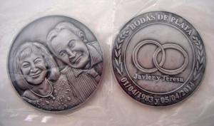 monedas personalizadas para bodas