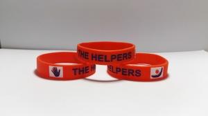 pulseras de silicona helpers