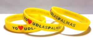 "pulseras de silicona ""UDLasPalmas"""