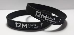 pulseras silicona maratones 12meses maratones