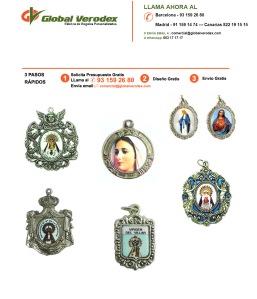 Fábrica de Medallas Religiosas Personalizadas