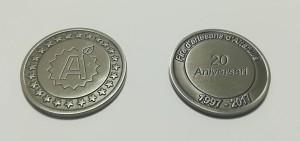 monedas promocionales souvenirs personalizadas