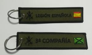 llaveros-bordados-tela-para-la-legion-personalizados