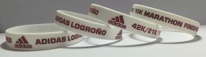 pulseras de silicona maratón logroño