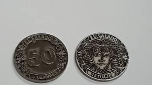 monedas tokens personalizados