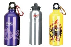 Botellas de aluminio agua personalizadas.