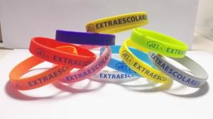 ejemplos pulseras de silicona personalizadas