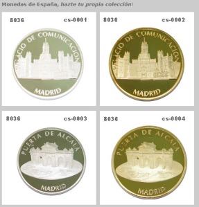 monedas personalizadas españa